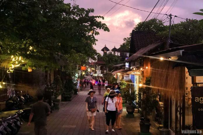 Atardecer en Ubud, Bali.