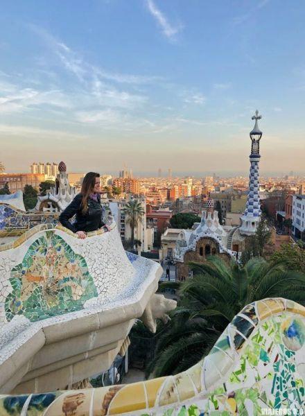 Parque Güell, los mejores miradores de Barcelona