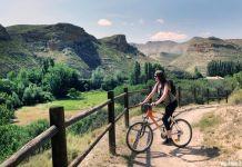 Ruta por el Valle del Alhama en bicicleta.