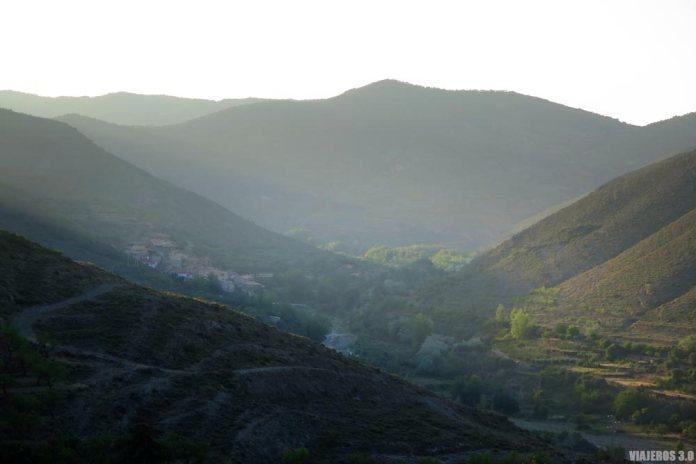 Ruta por el Valle del Alhama, vista panorámica