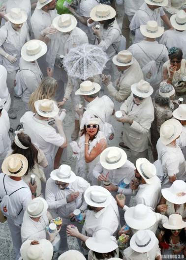 Trajes de época en el Carnaval de los Indianos