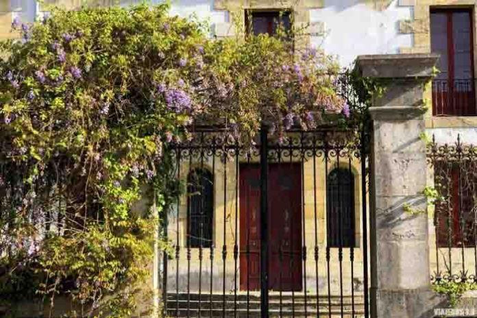 Casas indianas en Colombres, asturias