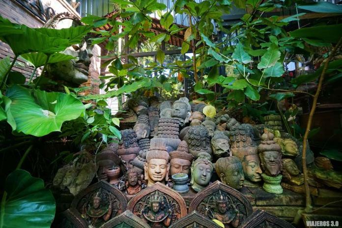 El Jardín de Terracota en el centro histórico de Chiang Mai