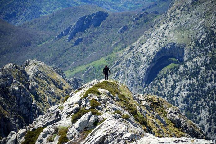 Ascenso al pico Gilbo en León