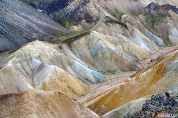 Montañas de riolita, Islandia