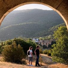 Finestres, pueblo abandonado en Huesca