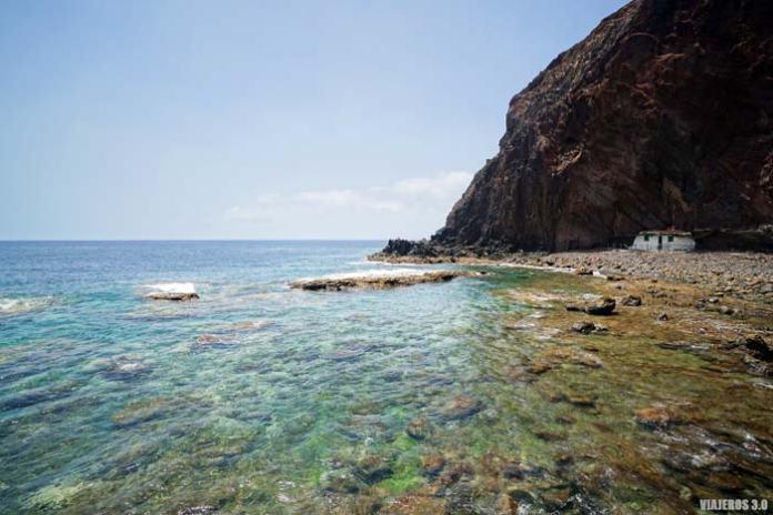 playas de La Sardina en Gran Canaria