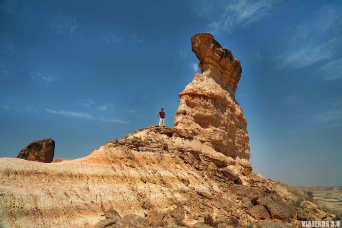 Desierto de los Monegros en Aragón