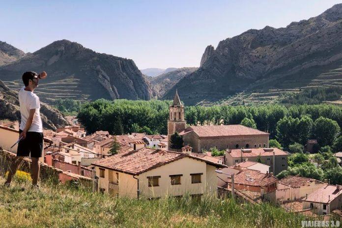 Parque Geológico de Aliaga en Teruel