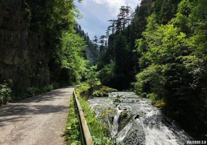 Los Ródopes, carreteras en Bulgaria