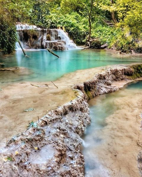 Las cascadas Krushuna en Bulgaria