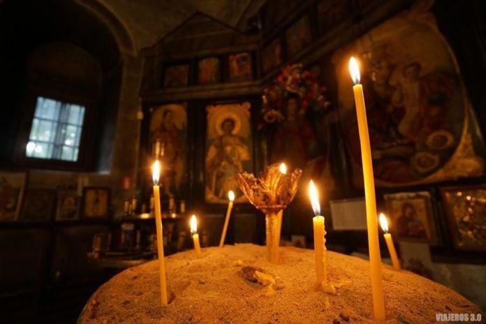 Monasterio ortodoxo en Bulgaria