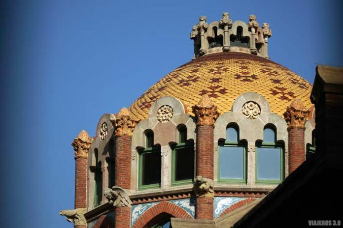 Recinto Modernista de Sant Pau, ruta del modernismo de Barcelona