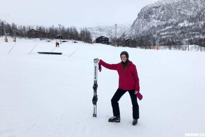 Dónde esquiar en Noruega, mi primera experiencia