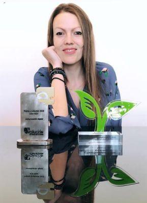 Premios Rebeca Serna con el blog Viajeros 3.0