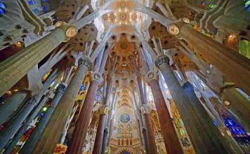 La Sagrada Familia por dentro, horarios y precio.