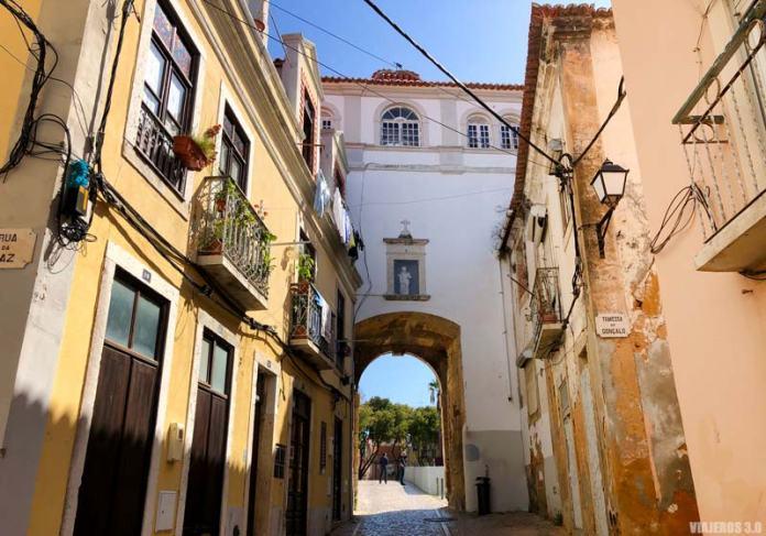 Centro histórico de Setúbal, Portugal