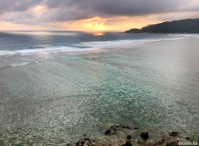 atardecer en Lombok