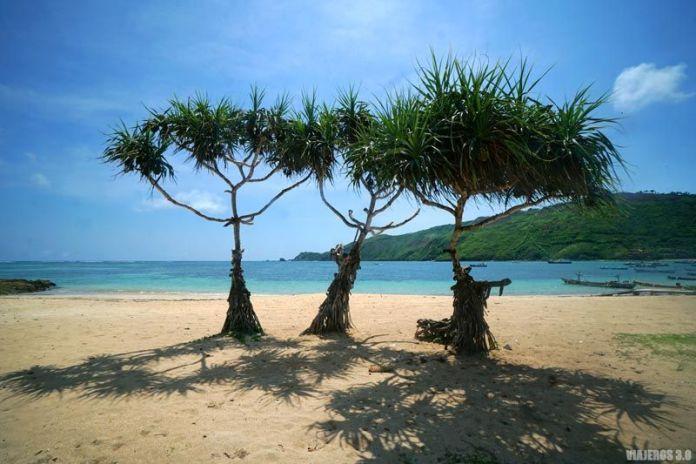 Playa de Kuta Lombok.