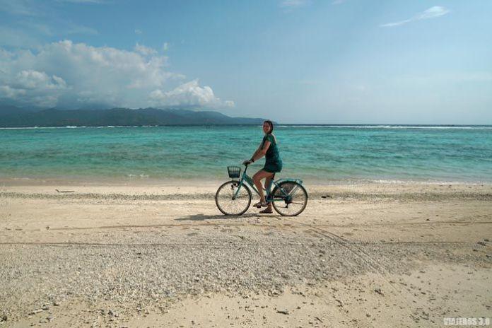 Islas Gili en bicicleta.
