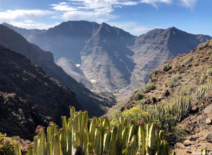 Degollada de Aguas Sabinas, Gran Canaria