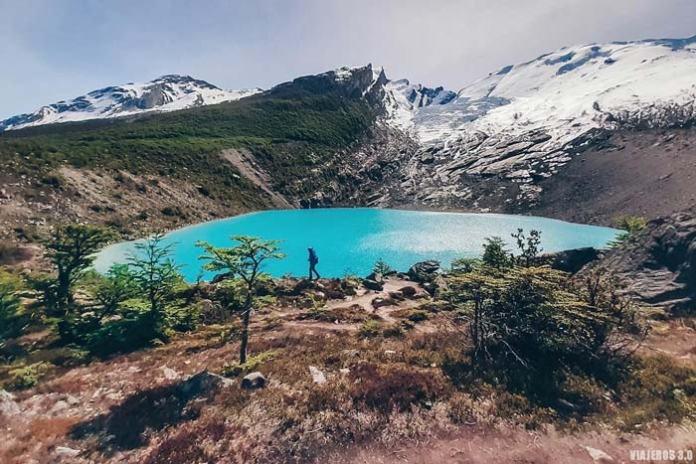 Trekking en Argentina, glaciar Huemul