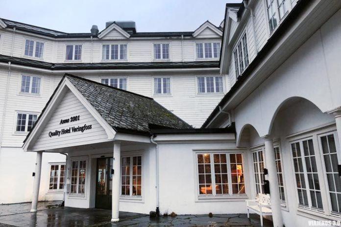 Hotel en Eidfjord, Noruega