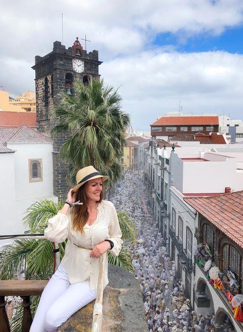 Fiesta Carnaval de los Indianos en La Palma