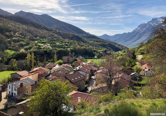 Mirador de Santa Marina de Valdeón en Picos de Europa