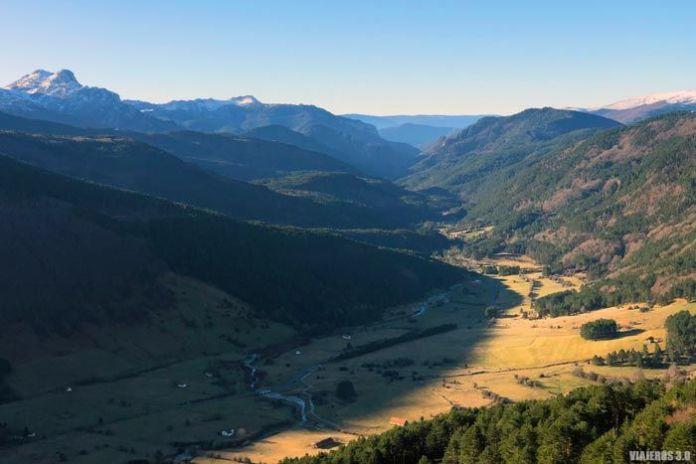Miradores en el valle Larra-Belagua