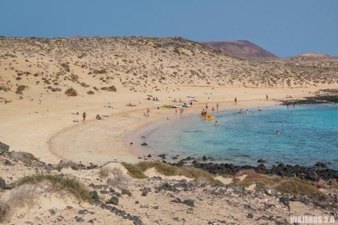 Playas en La Graciosa
