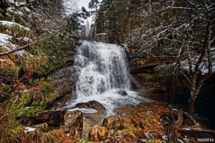 Ruta cascadas de Covaleda en Soria