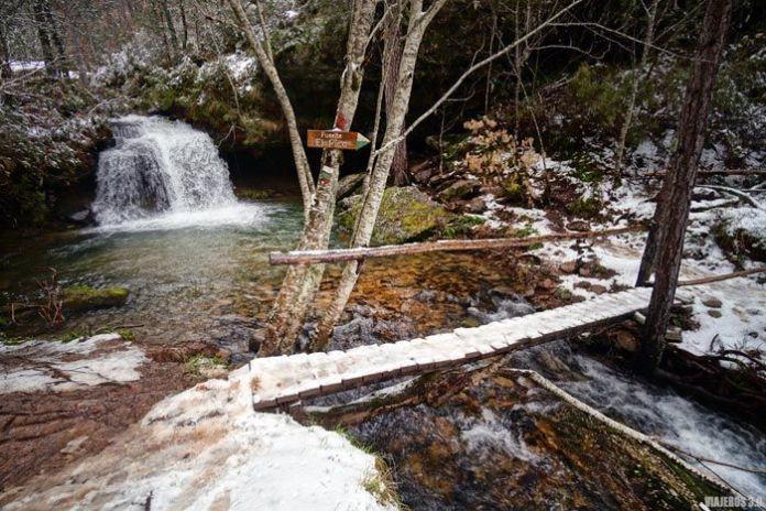 Fuente El Pico en Covaleda.