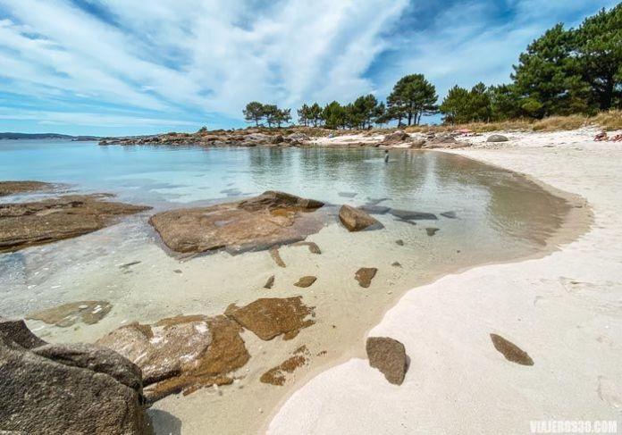 Una de las mejores islas de Galicia.