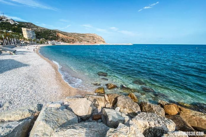 Playa de la Grava, mejores playas de Jávea