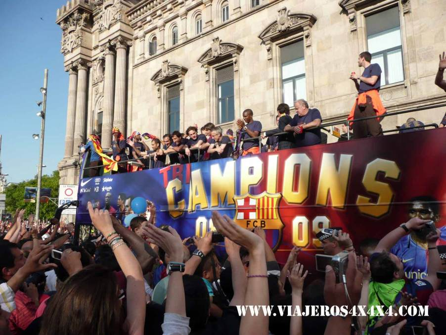 Futbol Club Barcelona, tricampeon 2009