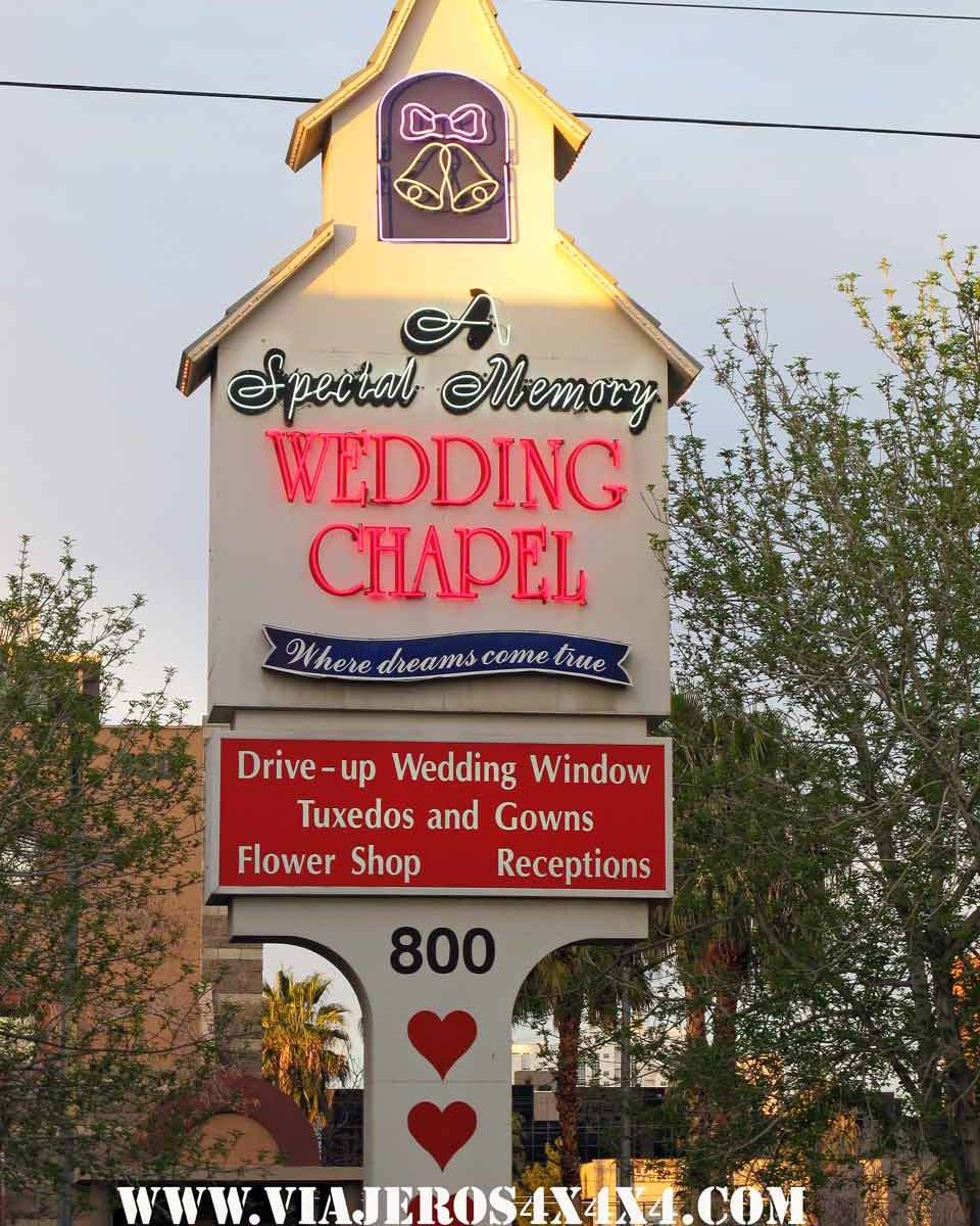 A Special Memory Wedding Chapel. Las Vegas. Nevada. Estados Unidos