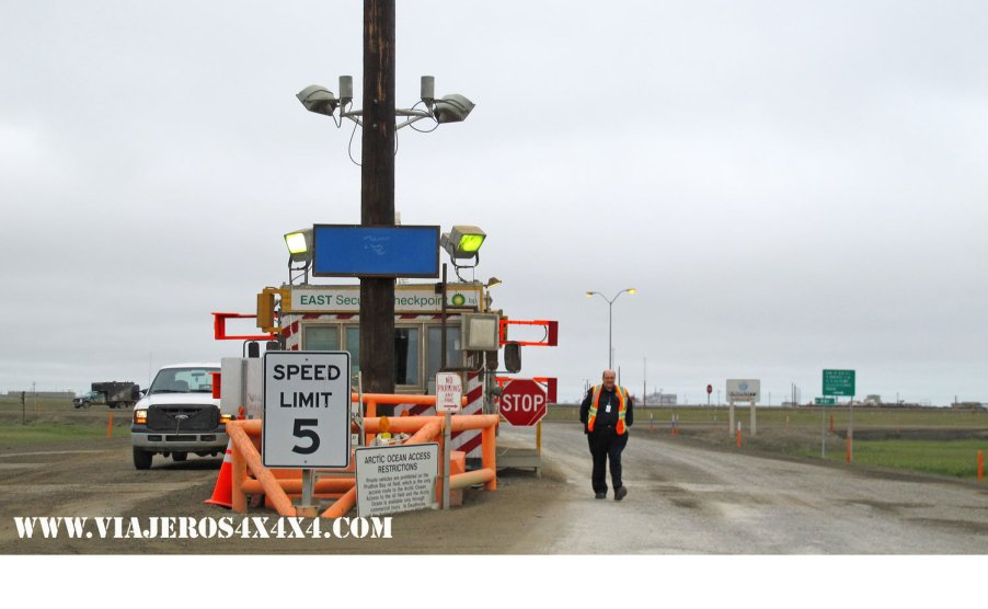 End of the Dalton Highway