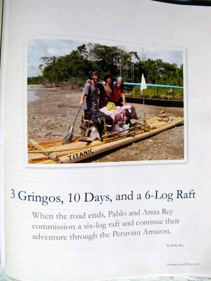 Overland Journal Winter 2011, Adventure in the Amazon Basin