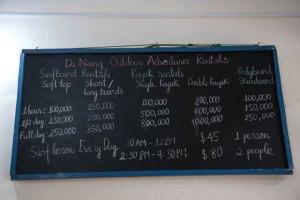 Da Nang Outdoor Adventure listado precios
