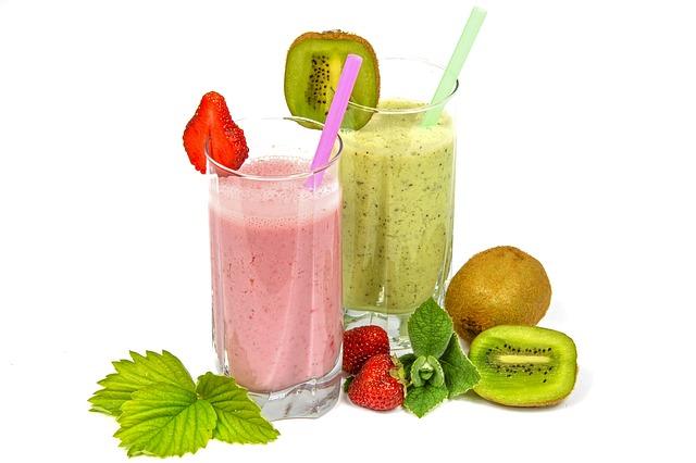 batidos de frutas sano