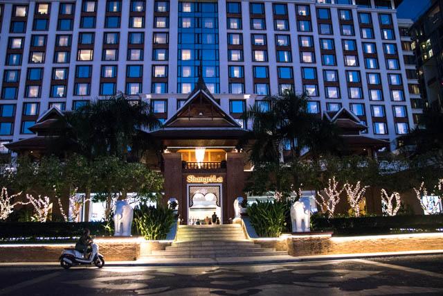 Hotel Shangri-la Chiang Mai entrada principal