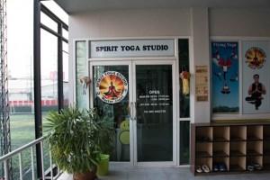 spirit yoga Chiang Mai entrada
