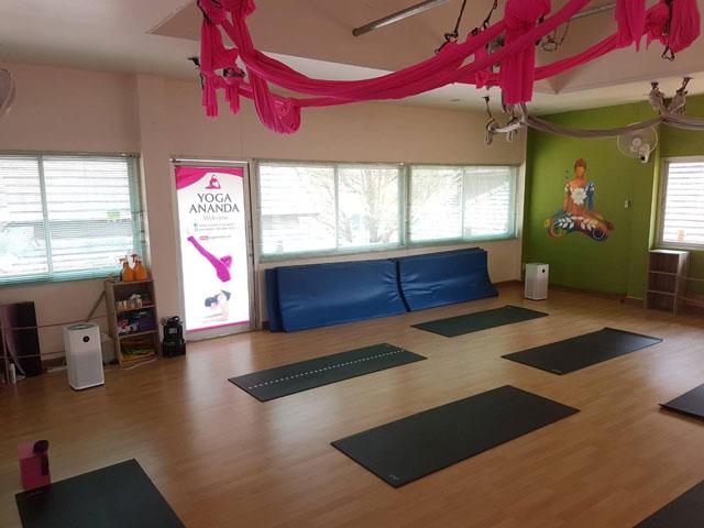 ananda yoga Chiang Mai - Jing Jai purificador aire