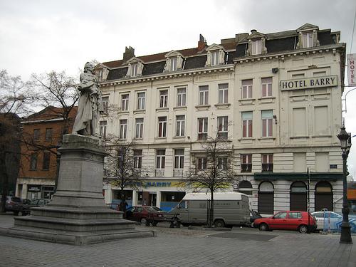 Dónde dormir y alojamiento en Bruselas (Bélgica) - Hotel Barry. ViajerosAlBlog.com