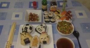 Preparando comida asiática casera: sushi, onigiri, miso, katsudon, oyakodon, yakisoba, dim sum, tallarines, arroz, etc. ViajerosAlBlog.com
