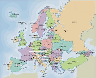 Introducción de la escapada a Italia, Liechtenstein, Suiza, Austria y San Marino. ViajerosAlBlog.com
