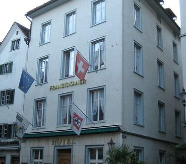 Dónde dormir y alojamiento en Chur (Suiza) - Hotel Franziskaner. ViajerosAlBlog.com