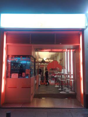 Dónde comer y gastronomía en Madrid (España) - Restaurante japonés Oishii. ViajerosAlBlog.com