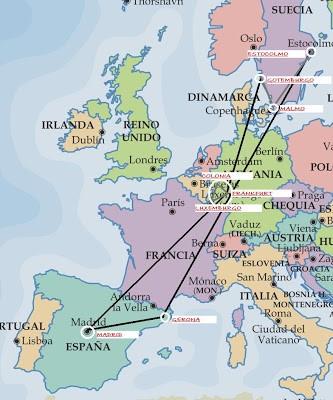 Introducción de la escapada a Suecia, Alemania y Luxemburgo. ViajerosAlBlog.com